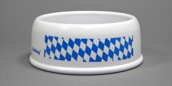 BiaRing Weiß mit bayerische Raute